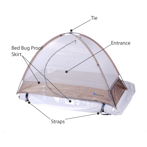 Eco-Keeper Bed Bug Tent Description Image
